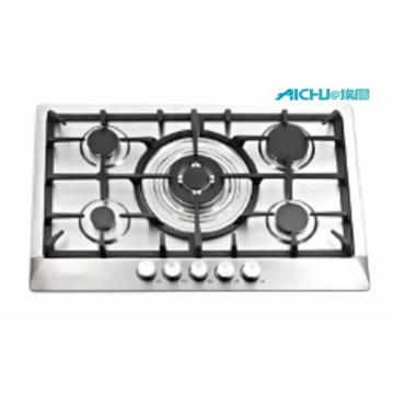 BuIlt In 5 Plate Gas Hob Top