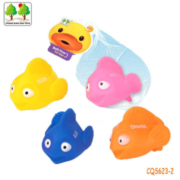 CQS623-2 CQS soft fish 4PCS with BB sound