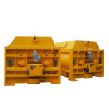 Patent CE 1.5m3 twin shaft concrete mixer