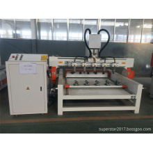 8 heads cylinder engraving and cutting machine