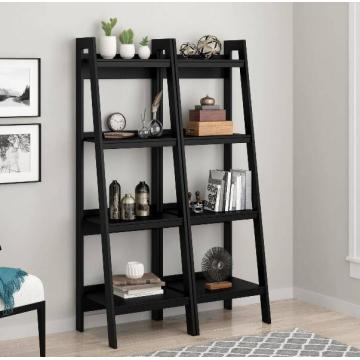 Buy Popular Black 4 Ladder Modern Bookshelf Online