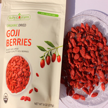 Natural Low-Price Goji Berry 8oz package
