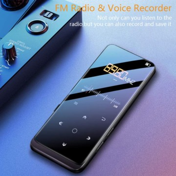 BENJIE M8 MP3/MP4 Player With Bluetooth 5.0,16GB Music Player With FM Radio Recording,1.8\