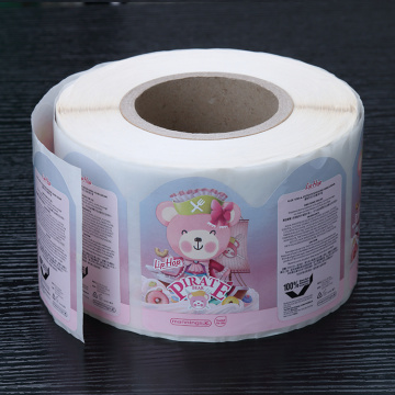 Waterproof OEM Custom Cosmetics Printed Label Stickers