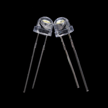 6-7lm 3000-3500k 5mm Warm White LED High Bright