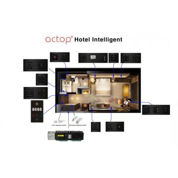 Smart hotel guest room management control system solution