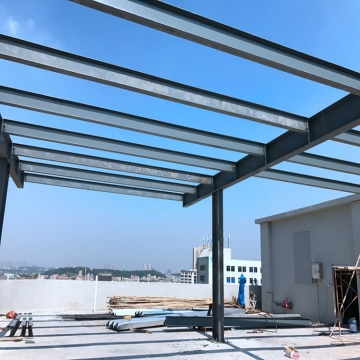 ISO Certificted Industrial Steel Frame Shed construction