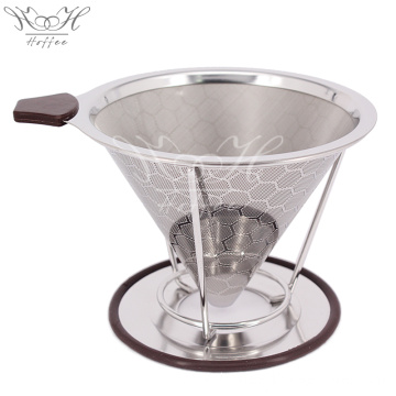 Paperless Stainless Steel Coffee Filter Reusable