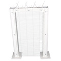 galvanized 358 high security anti climb mesh fence