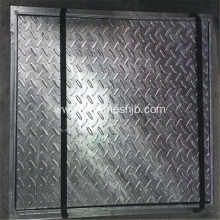 Composite Steel Grating Staircase
