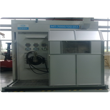 Stable hydraulic motor test device