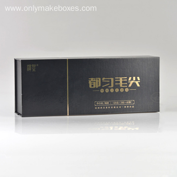 Luxury Brand Tea Boxes With Gold Foil Logo