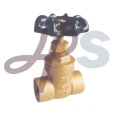 200WOG Brass solder gate valves