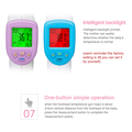 Children infrared thermometer gun ear forehead medical