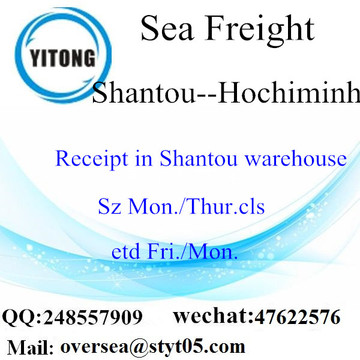 Shantou Port LCL Consolidation To Hochiminh