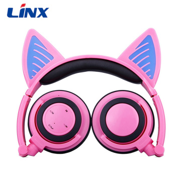 Wireless Stereo Animal Ear Headphone Anime Headphones