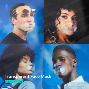Visible Expression Face Cover Mask