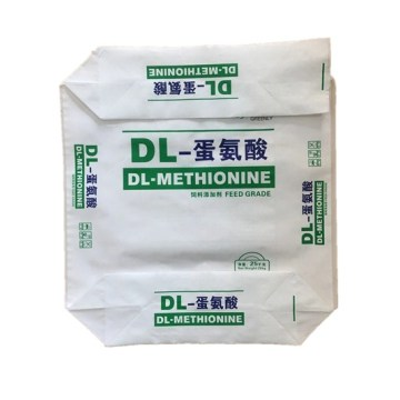 Food Ingredient OPP Laminated Block Bottom Valve Bag