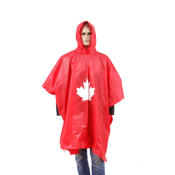 Factory sales Rain poncho with customized logo printing