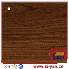 Lamination wood grain pvc film