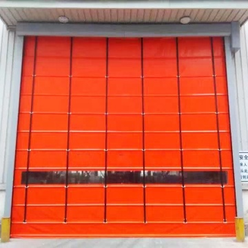 2019 High performance stacing high speed door