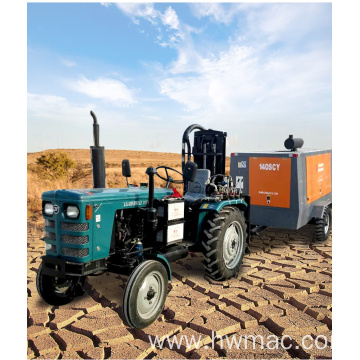 Tractor Pneumatic Drilling Machine
