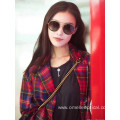 Round Full Frame Sunglasses For Female