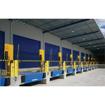 Automatic dock leveler hydraulic