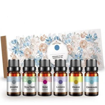 6*10ml Pure essential oil gift set
