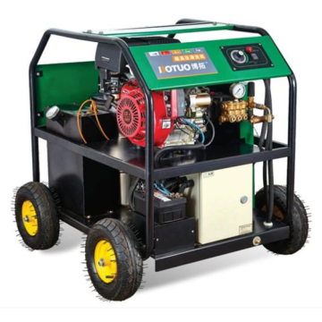 hot water cleaning machine gasoline engine drive