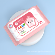 Alcohol-free Baby Wet Wipes Chlorine Free
