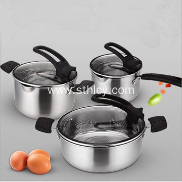 304 High Quality Stainless Steel Pot Six Pieces