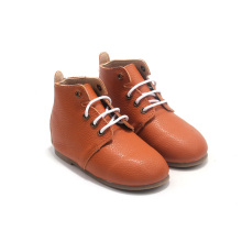 Kids Shoes Hard Sole Leather Children