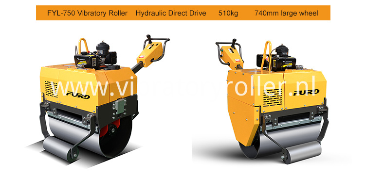 750 Small road roller