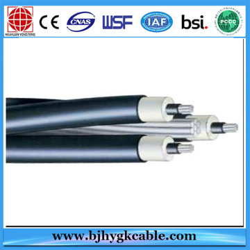 Aerial bundle cable 25mm2 35mm2 50mm2 70mm2 overhead ABC Cable