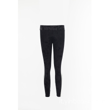 Leggings in velluto solido per donna