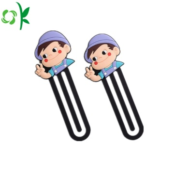 Best Selling Silicone Bookmark Cartoon for Sale