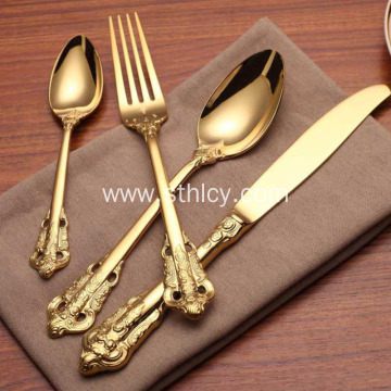 304 Stainless Steel Western Dinner Set