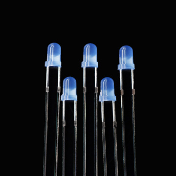Super Bright 3mm Blue LED Diffused 465nm LED