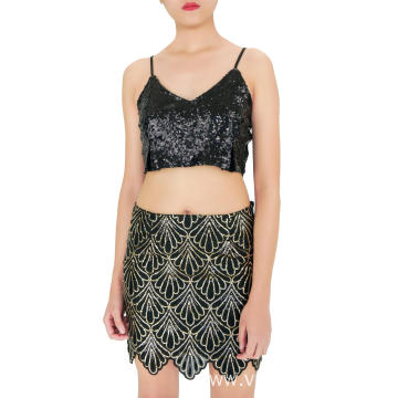 Alice Sequin Mini Skirt