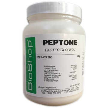 how is peptone prepared