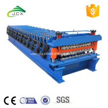 corrugation galzed step tile doubel layer machine Madagascar