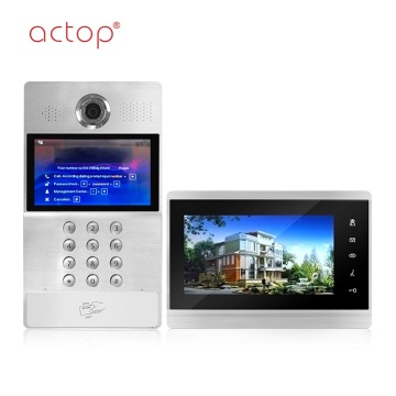 IP Apartment entry door video intercom