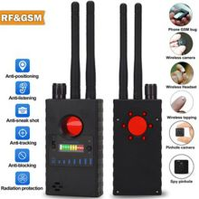 RF Scanner Anti-spy Detector Mini Camera GSM Audio Bug WiFi Signal Finder Private Protect Security RF Tracker Detect Wireless