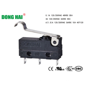 Dustproof Micro Switch Simulated roller 18.9mm