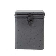 Argos Grey Metal Kitchen Canister Set