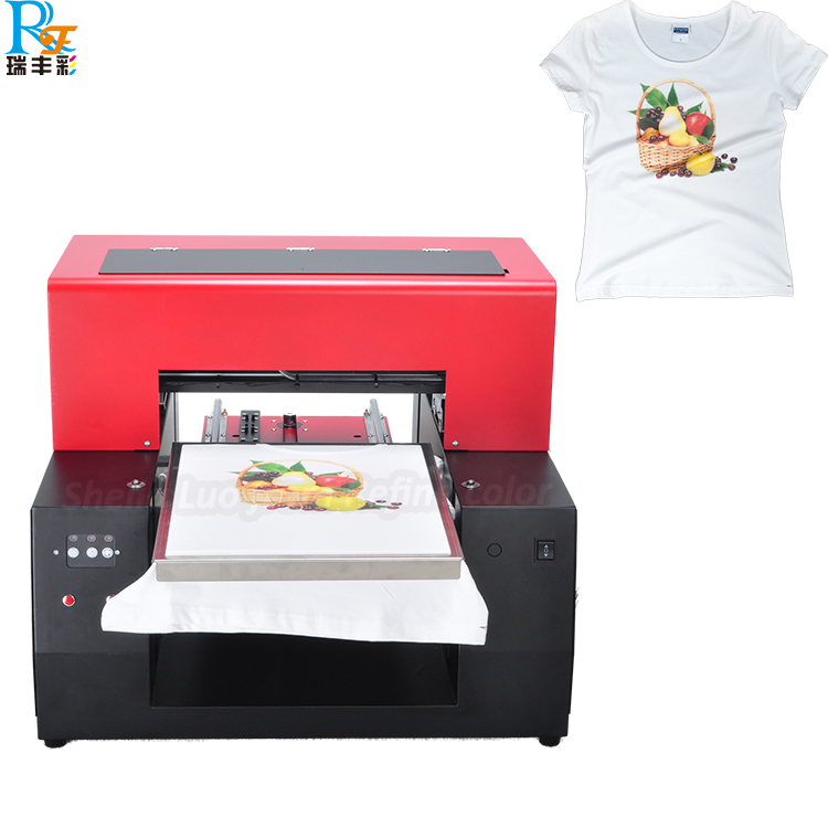 A3 Dtg Flatbed T Shirt Printer