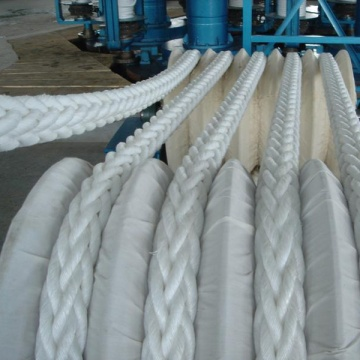 8mm UHMWPE Synthetic Winch/12 strand braid rope