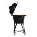 Family Use Ceramic Trolley Kamado Charcoal BBQ