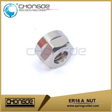 high flexibility ER16 A Type nuts ER16 collet CNC Machine Accessories